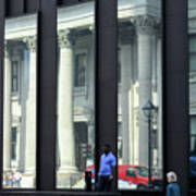 Bank Of Montreal Reflection Poster