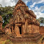Banteay Srei Mandapa Sanctuary - Cambodia Poster