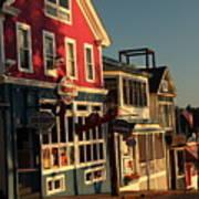 Bar Harbor At Dawn Poster