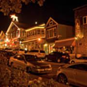 Bar Harbor Nights Poster