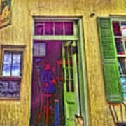 Bar Scene French Quarter New Orleans Poster