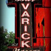 Bar Varick Nascar Poster