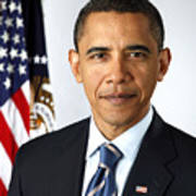 Barack Obama (1961- ) Poster by Granger