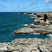 Barbados Coast Poster