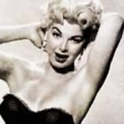 Barbara Nichols, Vintage Actress By John Springfield Poster