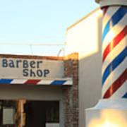 Barber Shop Poster by Troy Montemayor