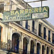 Barberia Konfort Poster