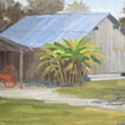 Barberville Barn Poster