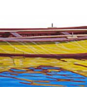 Barca Amarilla Poster