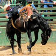 Bareback Bronc Rider Poster