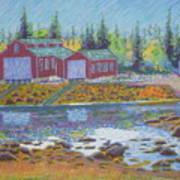 Barkhouse Boatsheds Poster