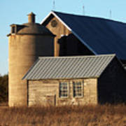 Barn At 57 And Q Poster