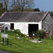 Barn At Fuerty Church Roscommon Ireland Poster