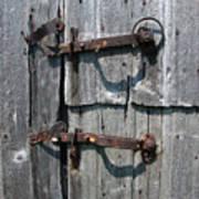 Barn Door Latches Poster