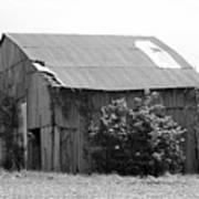 Barn In Kentucky No 58 Poster