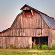 Barn Near Walnut Ridge Arkansas Poster by Douglas Barnett