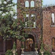 Barnsley Garden Ruins Poster