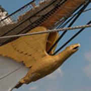 Barque Eagle Masthead Poster
