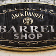 Barrel Shop Poster
