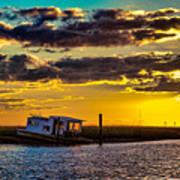 Barrier Island Sunset Poster