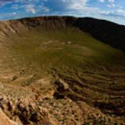 Barringer Meteor Crater #3 Poster