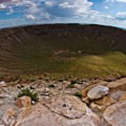 Barringer Meteor Crater #6 Poster