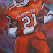 Barry Sanders, Oklahoma State Poster