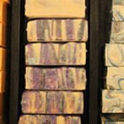 Bars Of Handmade Soap Poster