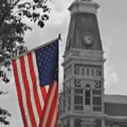Bartholomew County Court House Poster