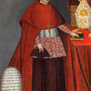 Bartholomew Fabro Y Palacios - Bishop Of Huamanga  Poster