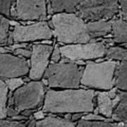 Basalt Wall Poster