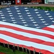 baseball all-star game American flag Poster
