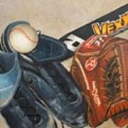 Baseball Allstar Poster by Teri Vaughn