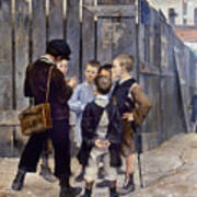 Bashkirtsev: Meeting, 1884 Poster