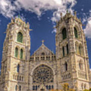Basilica Of The Sacred Heart Newark New Jersey Poster