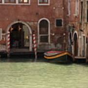 Basin in Venice Poster