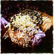 Basket Bouquet Poster