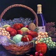 Basket Of Abundance Poster