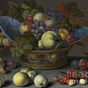 Basket Of Fruits Poster