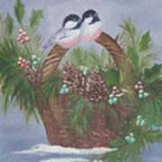 Basket Of Pine Poster