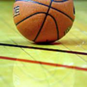 Basketball Reflections Poster