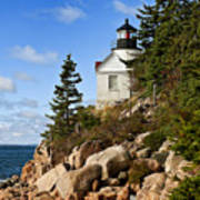 Bass Harbor Light Poster