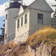 Bass Harbor Light Photo Poster