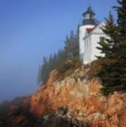 Bass Harbor Lighthouse, Acadia National Park Poster