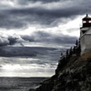 Bass Harbor Lighthouse In Acadia Np Poster
