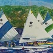 Bass Lake Races  Poster