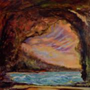 Bat Cave St. Philip Barbados  Poster