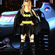 Bat Gal In The City Poster