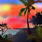 Echo Beach, Bali Poster