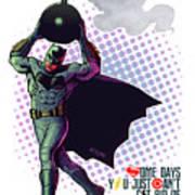 Batfleck And The Bomb 2 Poster